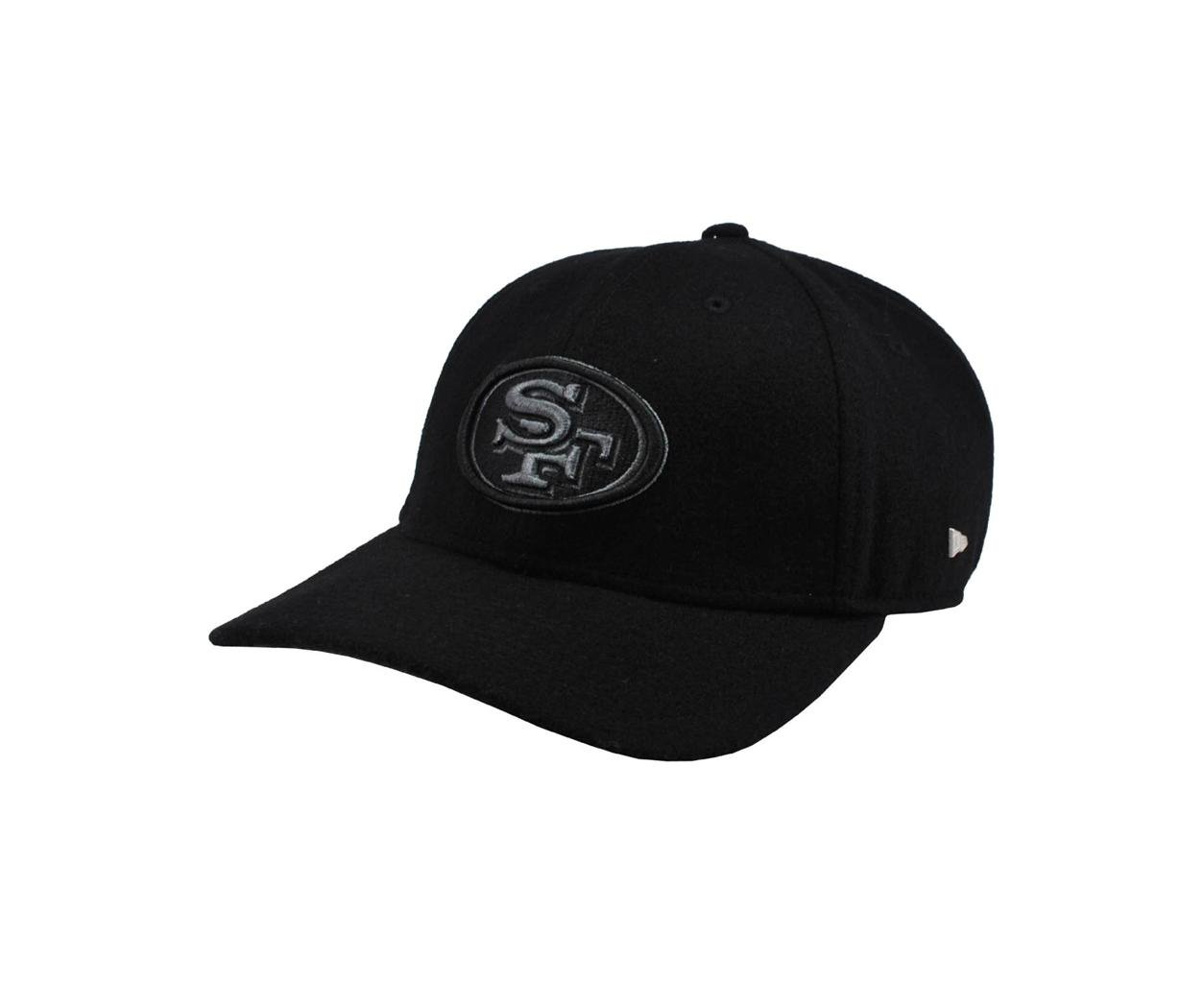 Amazon.com   New Era 49forty NFL San Francisco 49ers Hat Ek Nealon 4940  Black Football Cap (S)   Sports   Outdoors d95951b1000