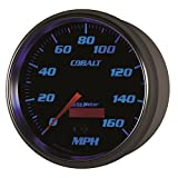Auto Meter 6289 Cobalt 5'' 160 mph In-Dash Speedometer Electric Programmable Gauge