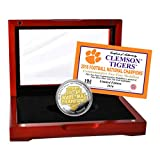 NCAA Clemson Tigers Highland 2016 Football National Champions Two-Tone Mint Coin, Gold