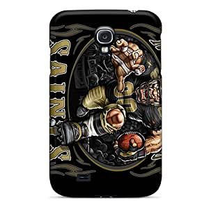 Durable Hard Phone Cases For Samsung Galaxy S4 With Unique Design Nice New Orleans Saints Pictures JohnPrimeauMaurice
