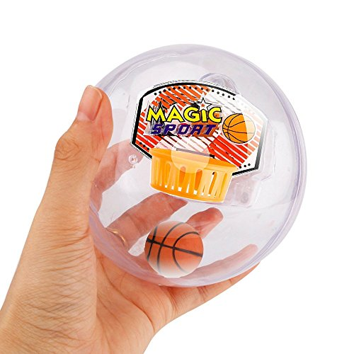 TaoQi Stress Relief Ball Handheld Basketball Game Fidget Ball Electronic Player Reliever Nolvety Toys with LED Light and Music Shooting Game Great for Children Birthday Gifts (Basketball Player Gifts)