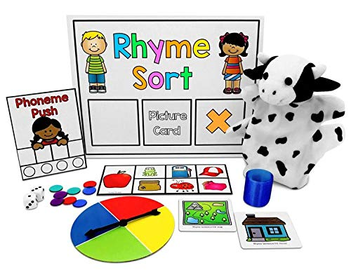 Dyslexia Toolkit | Best Tool Kit for Teaching Kids Phonemic Awareness & Alphabet Knowledge | Flash Cards, Games & Book for Home & School | Preschool, Kindergarten, 1st Grade & Up Reading Curriculum by PDX Reading Specialist (Image #1)