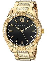 Sean John Mens Bond Quartz Metal and Alloy Dress Watch, Color:Gold-Toned (Model: SJC0171005)