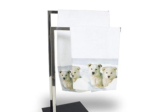 Juego toallas y toallas de baño de impresión digital Linea Natural ...