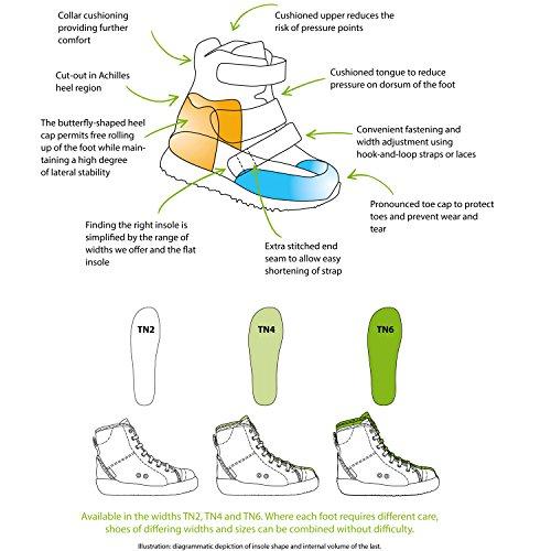 Schein Phoenix 354480 Tn2 Leather Ankle Support Sneaker
