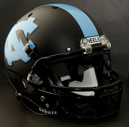 NORTH CAROLINA TAR HEELS Football Helmet DECALS UNC (ACCESSORY DECALS) (Unc Football Helmet compare prices)