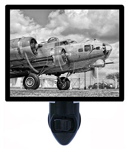 Night Light - B-17G Nine-O-Nine - Airplanes - Vintage LED NIGHT LIGHT