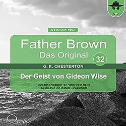 Der Geist von Gideon Wise (Father Brown - Das Original 32)