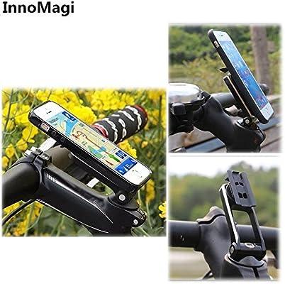 InnoMagi Soporte Movil Bicicleta Universal Rotación de 360 ...