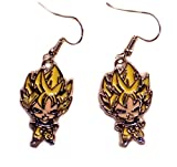 Outlander Dragon Ball Z Goku Earring Dangles In Gift Box From