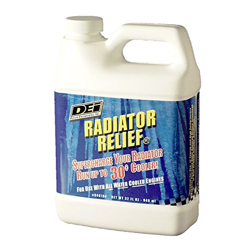 DEI 040104 Radiator Relief Coolant Additive for All Water Cooled Engines, 32 oz.