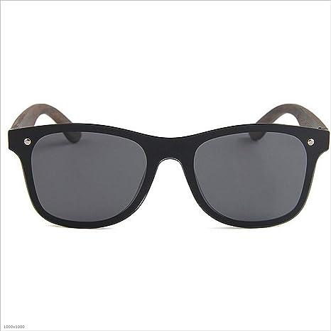 Personalidad Ojos de Gato One-Piece Style Hombres Gafas de Sol polarizadas  Pierna de Madera Marco PC TAC Lente Vacaciones Pesca Playa Gafas de Sol al  Aire ... 3ab06cf4bd