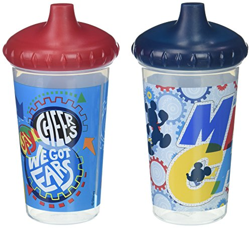 Disney Mickey Mouse Clubhouse 2 Piece Slim Sippy Cups