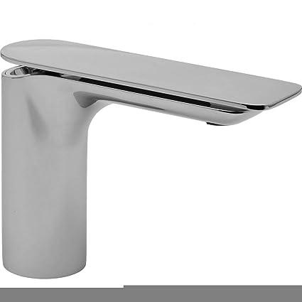 Sento Single Hole Bathroom Faucet Finish Polished Chrome Touch On