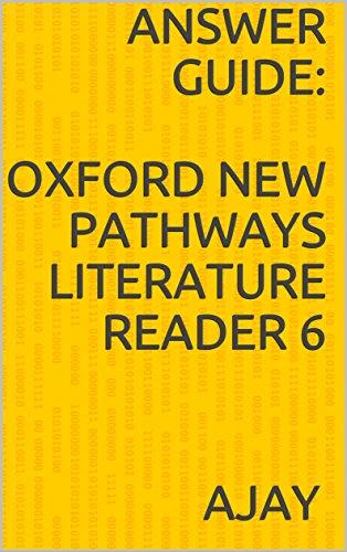 amazon com answer guide oxford new pathways literature reader 6 rh amazon com