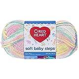 Corazón rojo Soft Baby Steps Yarn