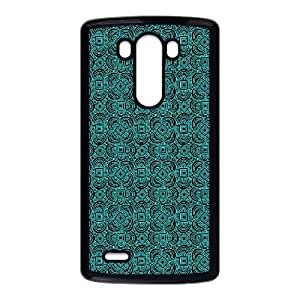 LG G3 Cell Phone Case Black Anchor Pattern 002 KYS1122043KSL