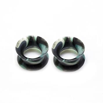 Amazoncom Pair Of Thin Silicone Flexible Ear Plugs Camouflage