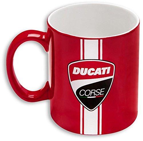Ducati Corse Logo Coffee Tea Ceramic Mug Red 987694009
