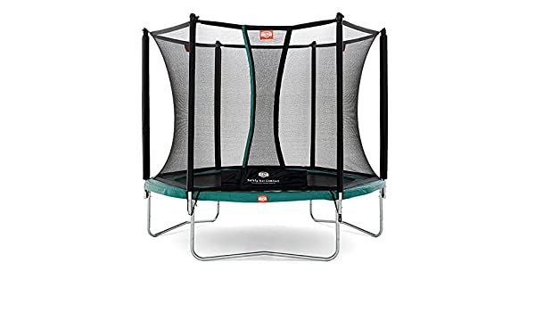Trampoline BERG Talent 240 avec filet, vert: Amazon.es: Juguetes y ...