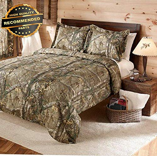 Gatton Premium New Comforter Set King Cal Size Real Tree Xtra Green Shams Camouflage   Style Collection Comforter-311012628