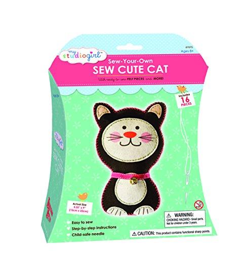 - U-Create My Studio Girl Sew Cutes - Cat