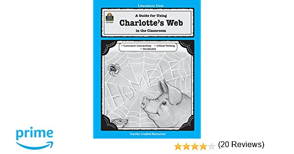 Counting Number worksheets james and the giant peach worksheets free : Amazon.com: A literature unit for Charlotte's Web (0014467004358 ...