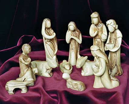 Presepi Di Legno Betlemme : Olomouc repubblica ceca dicembre betlemme mano