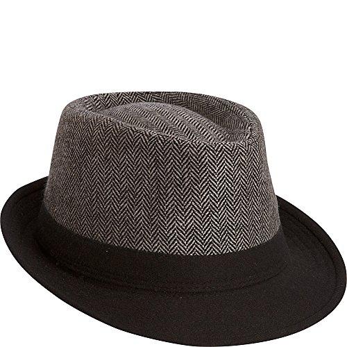adora-hats-polyester-fedora-black