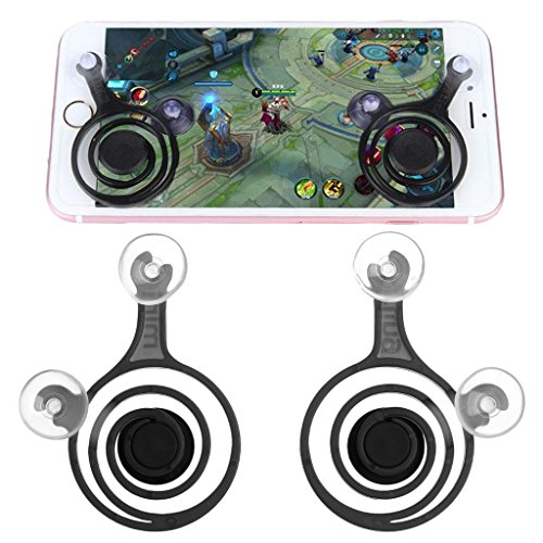 SCASTOE Smartphone Mini Games Joysticks, Any Touch Screen Joystick for Phone tablet Arcade Games NEW Twin Pack 2pcs/set Green