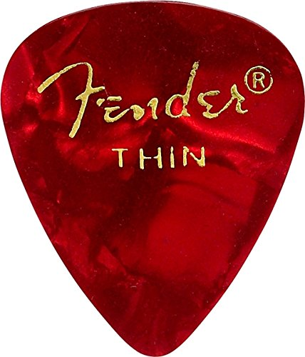 Fender 351 Shape Premium Picks  for electric guitar, acousti