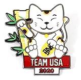 2020 Tokyo Olympics Team USA Lucky Cat M...
