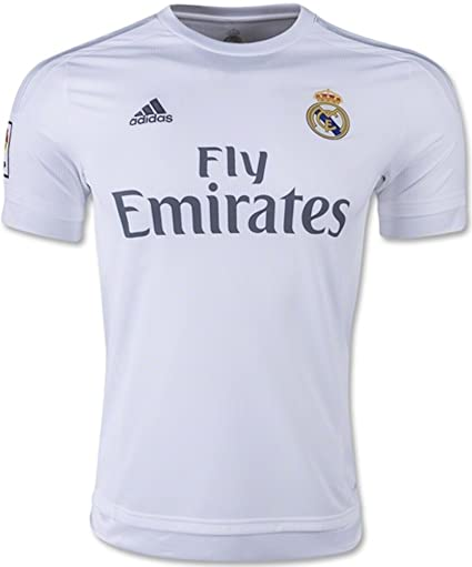 0e7de171bfb58 Adidas Real Madrid CF Home Authentic Jersey-WHITE (2XL)