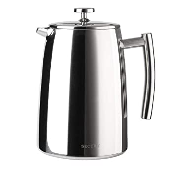 Secura Cafetera de acero inoxidable 1.5 litros 50-onzas ...