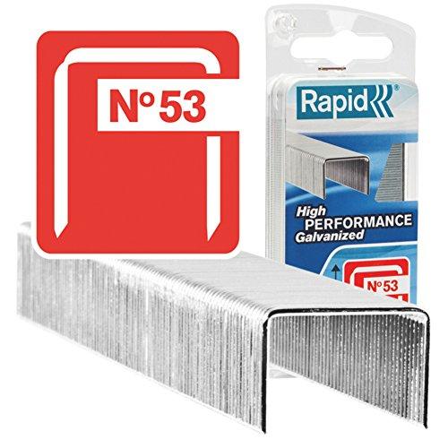 Acciaio Rapid 40109506 No 53 Graffe a Filo fine 14 mm