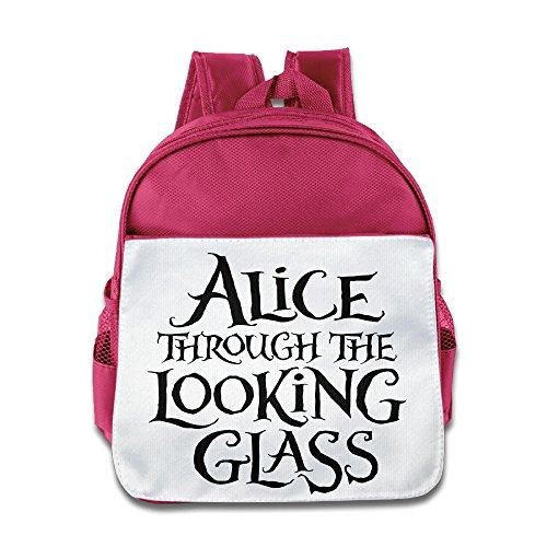 [MoMo Unisex Alice Through The Looking Glass Boy Girl School Backpack For Little Kids] (Dead School Girl Costume)