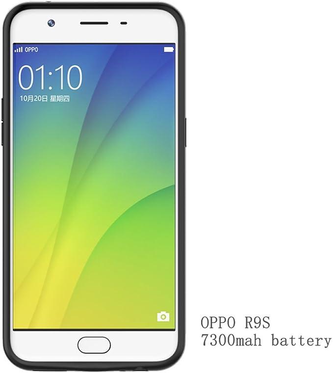 Cargador de batería de 7300 mAh para OPPO R9S PowerBank Externo ...