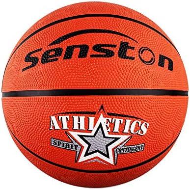 Senston Balon Baloncesto Niños de Goma de Tamaño 5: Amazon.es ...