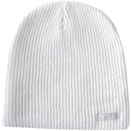 Neff Daily Men's Beanie Sports Hat - White / One Size