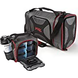 Fit & Fresh Dual Jaxx FitPak Duffel with Portion Control Container Set