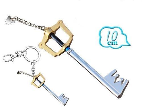 Llavero Kingdom Hearts Keyblade Sora Roxas, 10 cm., en metal ...
