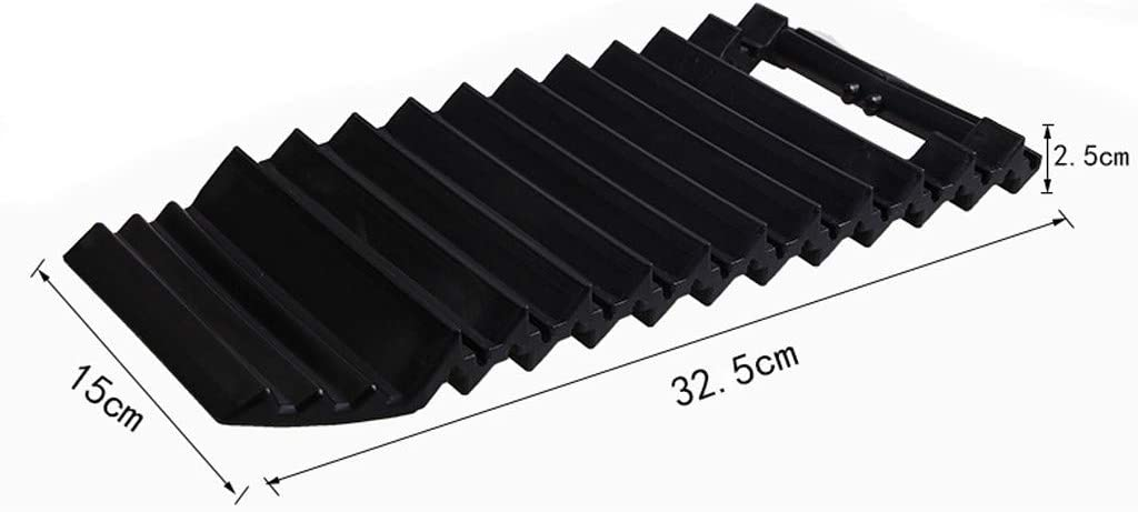 Van or Fleet Vehicle Unstuck in Snow Truck and Sand Portable Tire Traction Mats Black Two Emergency Tire Grip Aids Used to Get Your Car Ice Mud