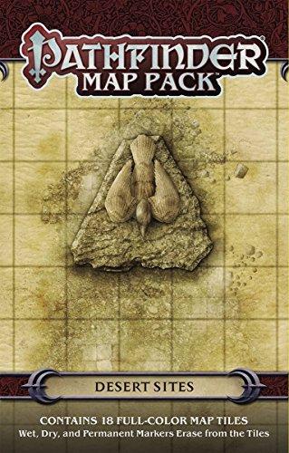 Pathfinder Map Pack: Desert Sites
