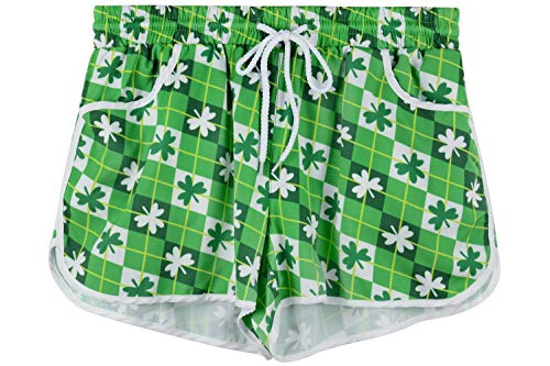 For G and PL Women Beach Summer Green Casual Board Shorts Sports Beachrider Shamrock XXL