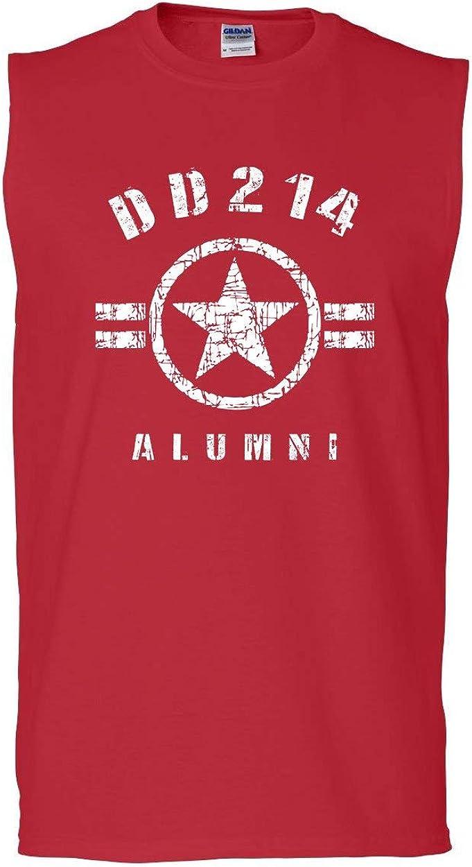 DD214 Alumni Tank Top Military Service Veteran American Patriot Sleeveless