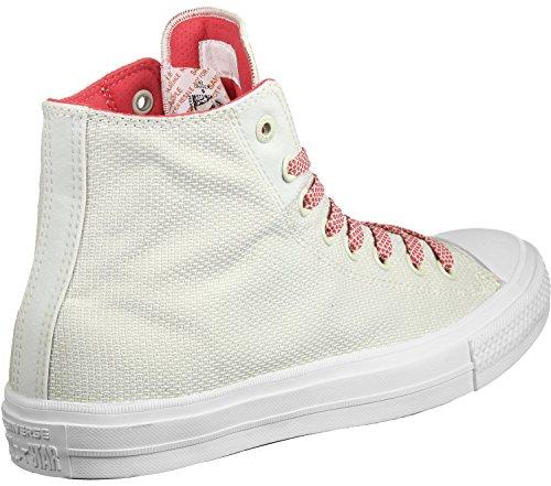 Converse All Star II Hi Schuhe Beige Rot