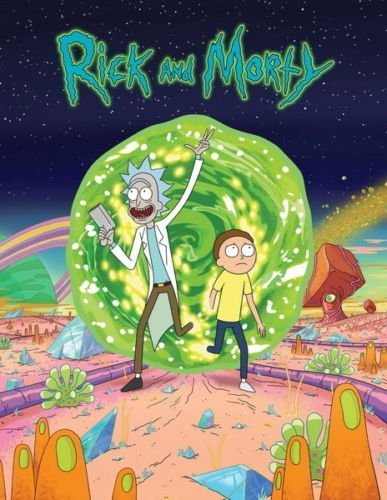 Tomorrow sunny 24X36 INCH / ART SILK POSTER / 016 Rick And M