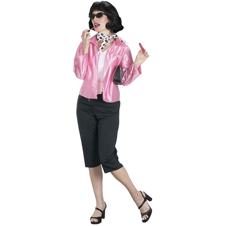 Amazon.com: Grease Pink Lady Costume - One Size - Dress Size 4-14 ...