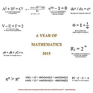 A Year of Mathematics 2015 Calendar