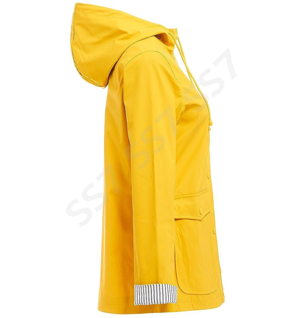 NEUF SS7 Femmes Imperm/éable Veste de pluie bleu jaune tailles 10 pour 18